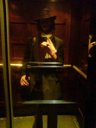 Elevator Ghost by AJChimaera