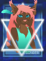 Ginger by KenaDirewolf
