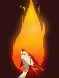 BURN by KenaDirewolf