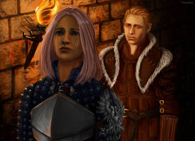 Alistair and the Warden by Aneriana