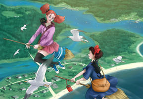 Mary And The Witch's Flower by Aneriana