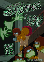Velma - Ghostly Gropings - A 6-Page Comic by 34Qucker