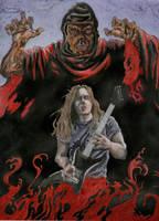 Chuck Schuldiner by Bonesaw999