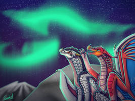 Northern Lights YCH by Sahel-Solitude