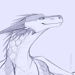 Thundersnow Headshot Sketch CM by Sahel-Solitude