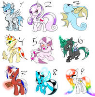 Pony Adopts Free by Dewa-chan