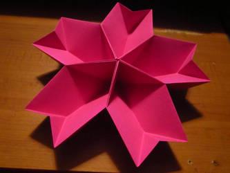 Origami Sakura Bowl by Sakura-Courage-Solo