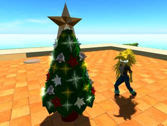 Mobius Grid Christmas Tree by Sakura-Courage-Solo