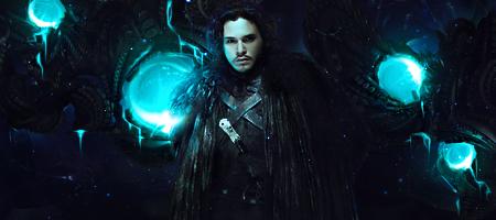 Jon Snow - Game of Thrones HBO by Elleaeve