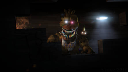 Nightmare Chica by tlc2013