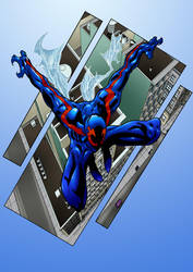 Spider-Man 2099  by marshinson