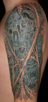 Morbid Tattoo Left Arm 3 by Jochen-SOD