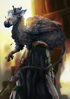 The Last Guardian- Fanart by RoItsSomething