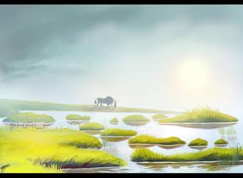 Cloud Swamp by kalambo