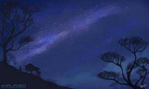 Milky Way by kalambo