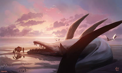 the end of a giant by kalambo