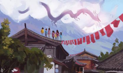 dragon season by kalambo
