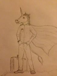 Mr. unicorn by Tiny-Munster