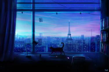 Lonely Night by RicoDZ