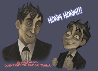 Batman- Honk Honk by VampireBarons