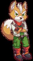Fox McCloud by BritishStarr