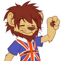Willie the Lion by BritishStarr