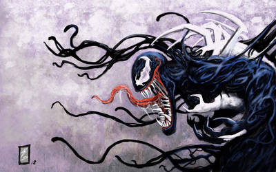 Venom art team up 2 by coyote117