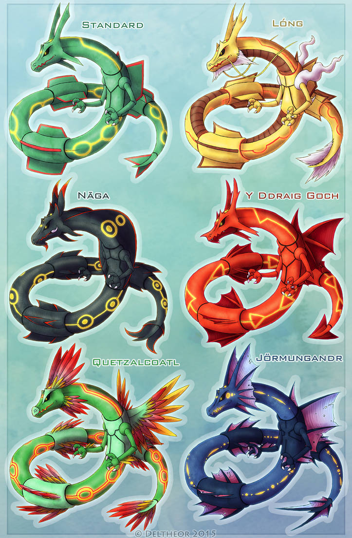 Rayquaza Variations by Deltheor