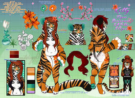 Kitty the Tiger | REFERENCE |::2ndfursona by KIWIKlTTEN