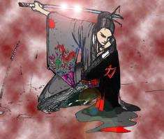 samurai woman by choizzzy