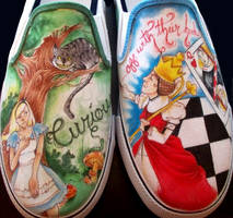 SHOES: Alice in Wonderland by yurchan