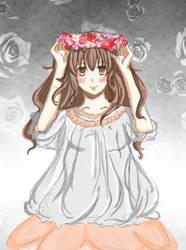 Blumenmaedchen-FlowerGirl by Thubilee