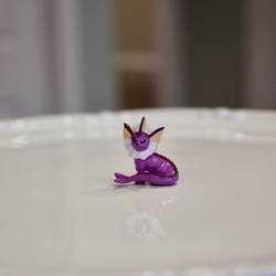 For Sale: Small Shiny Vaporeon FIgurine by TerribleSaturn