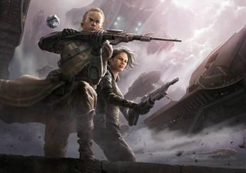 Mercenary by shenfeic