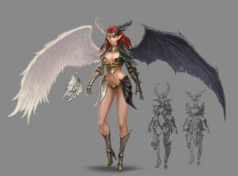 Angel of Death by shenfeic