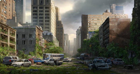 Post Apocalypse by shenfeic