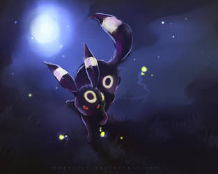 umbreon by Apofiss