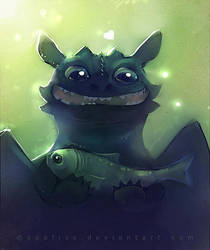 toothless approves by Apofiss