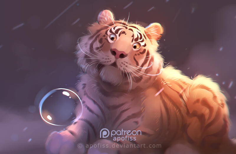 tiger7 by Apofiss