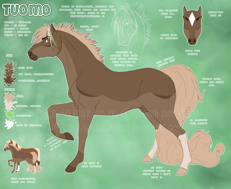 Tuomo - Character ref v.2 by Janaita