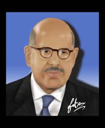 Dr. Mohamed Elbaradei by vanellia