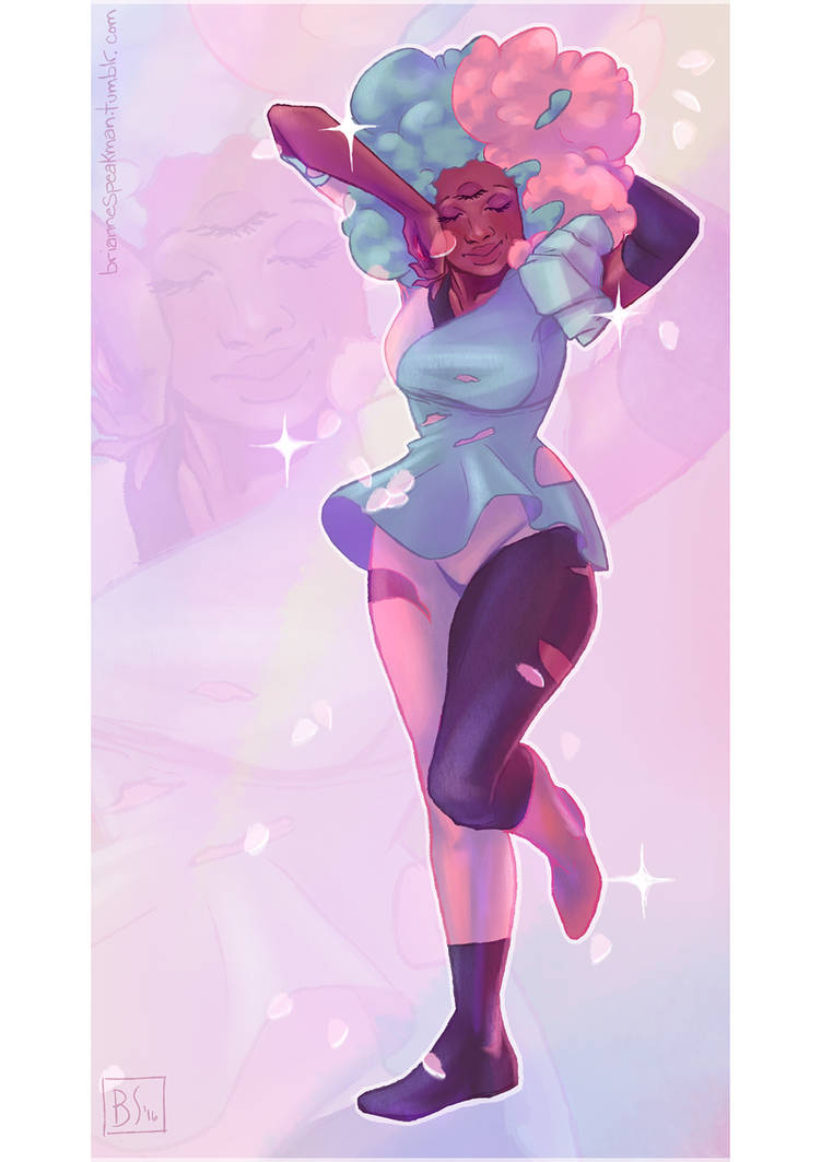 Precious cotton candy babe <3 this drawing can also be found on tumblr, here. Please reblog it from there and leave the credit instead of reposting if you wish to post it to your tumblr, th...