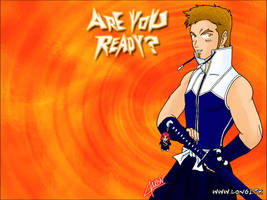 ArE YoU ReAdY? Red Wallpaper by Darth-Longinus