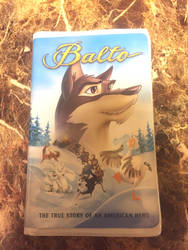 Balto 2001 clamshell VHS by Oklahoma-Lioness