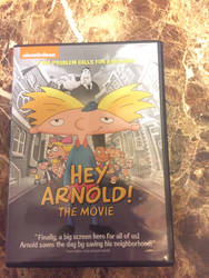 Hey Arnold the movie DVD by Oklahoma-Lioness