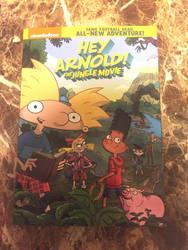 Hey Arnold The Jungle movie DVD by Oklahoma-Lioness