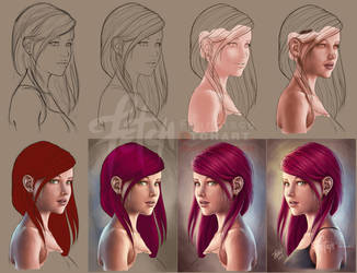 Miss WOLFF_Process by FranciscoETCHART
