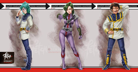 4/12 ROBOTECH Macross03 by FranciscoETCHART