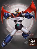 2/32 Robots / GREAT MAZINGER by FranciscoETCHART