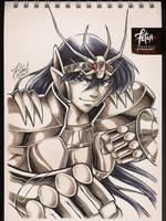 COPIC sketch 75 SHIRYU by FranciscoETCHART